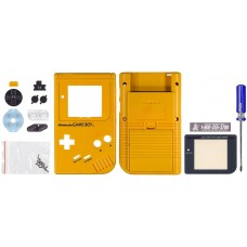 GameBoy Play it Loud Replacement Shell, Vibrant Yellow